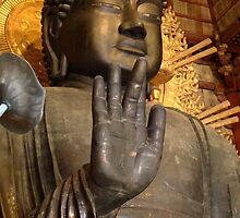 Great Buddha of Nara by Tony Roddam