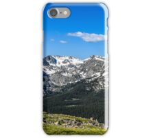 A View Of The Rockies iPhone Case/Skin