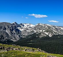 A View Of The Rockies by mikeyputtsphoto