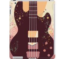 Retro Guitar Poster 3 iPad Case/Skin