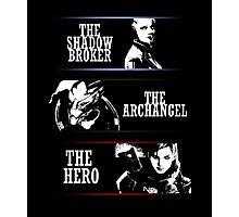 Shadowbroker, Archangel, the Hero femshep Photographic Print