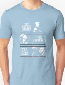 Shadowbroker, Archangel, the Hero femshep T-Shirt