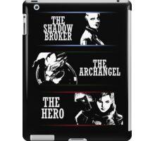 Shadowbroker, Archangel, the Hero femshep iPad Case/Skin