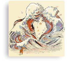 The Great Wave of Love Metal Print