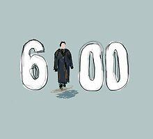 GroundHog Day - 6AM - Bill Murray by jenbewonderland
