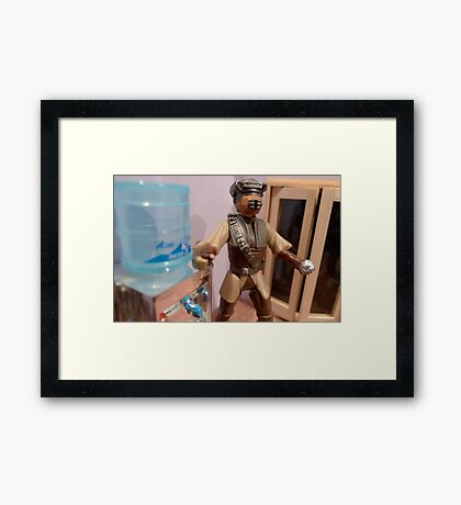 Thirsty Framed Print