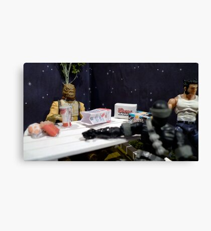 Intergalactic Snack Canvas Print