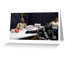 Intergalactic Snack Greeting Card