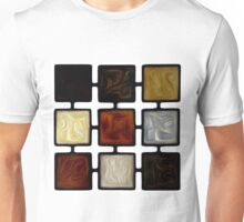 Abstract Squares Oil Painting #2 Unisex T-Shirt
