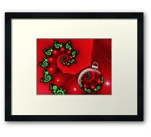 Holiday Blessings Framed Print