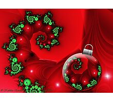 Holiday Blessings Photographic Print