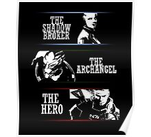 Shadowbroker, Archangel, the Hero maleshep Poster