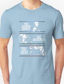 Shadowbroker, Archangel, the Hero maleshep T-Shirt