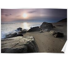 New Day Cape Cod, Eastham Ocean Side Sunrise Poster