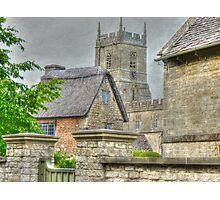 A church view Photographic Print