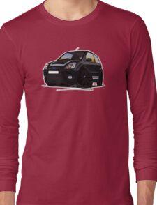 Ford Fiesta ST500 Black Long Sleeve T-Shirt