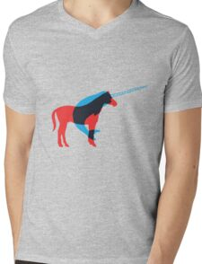 Narwhalicorn - How Unicorns are made Mens V-Neck T-Shirt