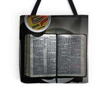 Matthew 4:4  Tote Bag