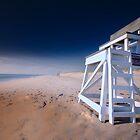 Nauset Beach, Cape Cod - Lifeguard Chair by Artist Dapixara