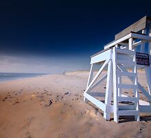Nauset Beach, Cape Cod - Lifeguard Chair by capecodart