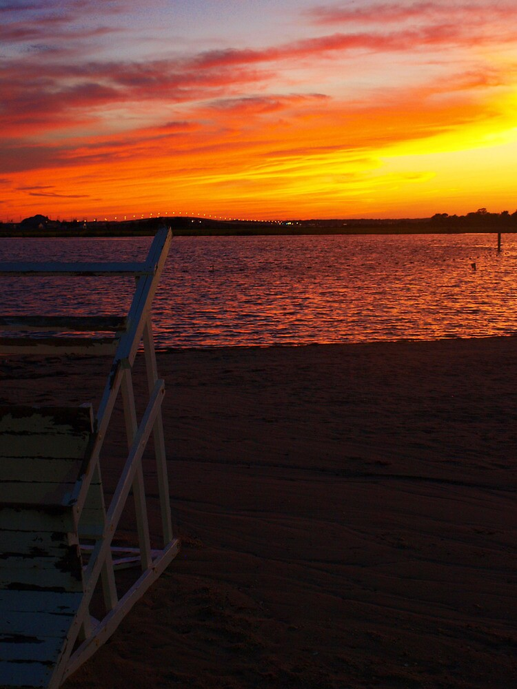 Ortley Sunset by DCphotographs