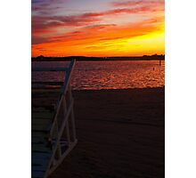 Ortley Sunset Photographic Print