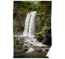 The Hopetoun Falls on the Aire River Poster