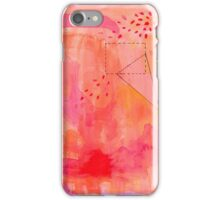 Abstract Watercolor in Pinks iPhone Case/Skin