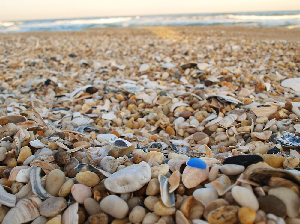 Blue Seaglass by DCphotographs