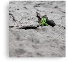 Lego Alien - Peek-a-boo! Canvas Print
