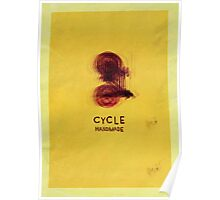 Cycle - Handmade Poster