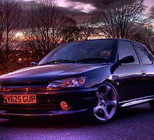 my peugeot 306 GTi 6 by DW3DMAYA