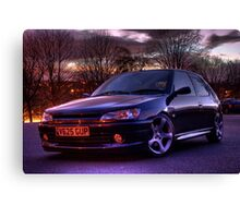 my peugeot 306 GTi 6 Canvas Print