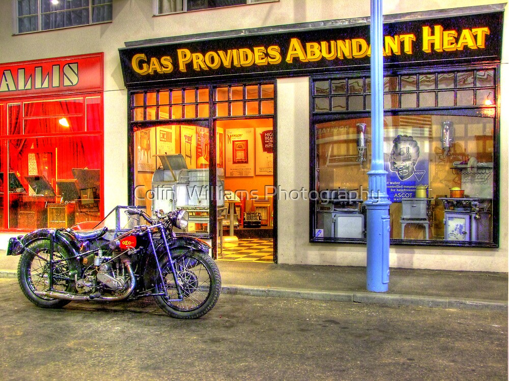 Step On The Gas - HDR by Colin  Williams Photography