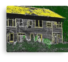 Painted Home Canvas Print