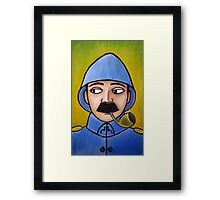 retro soldiers 4 Framed Print