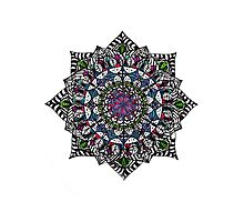 mandala design Photographic Print
