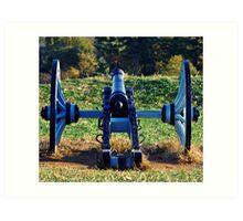 The Blue Canon Art Print