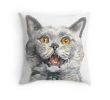 Oh Sh*t! Cat Throw Pillow