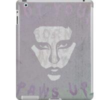 born to survive iPad Case/Skin