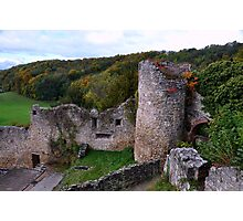 The Ruin: Burg Rötteln Photographic Print
