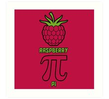 Raspberry Pi Art Print
