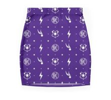 Harry Potter Icons - White Mini Skirt