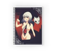 Queen of Darknes Devora and Demon Fox PinYin Spiral Notebook