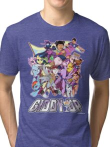 Giddy Up ! Tri-blend T-Shirt