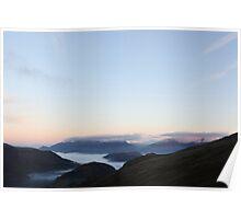 Morning light from Helvellyn Poster