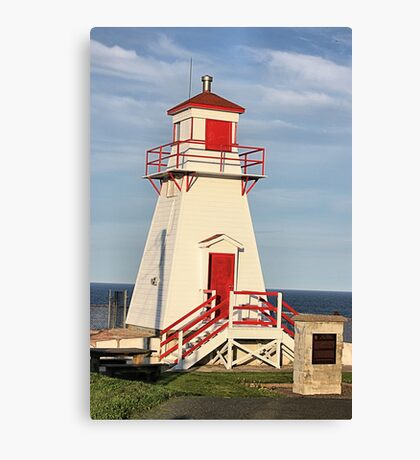 Fort Amherst Lighthouse Canvas Print