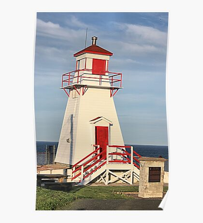 Fort Amherst Lighthouse Poster