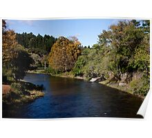Mascoma River Bend Poster