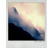 Moutain Polaroïd Photographic Print